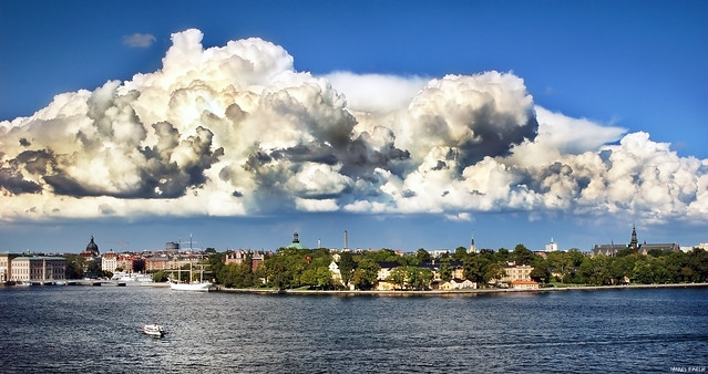 Whipped Cream over Skeppsholmen
