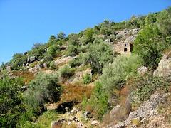 Au début du sentier, peu après le hameau de Monte Estremu