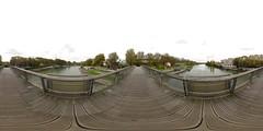 Footbridge of Maison-Alfort / Saint-Maurice