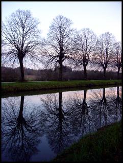 Evening symmetry