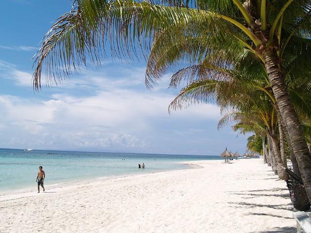 Strand på Panglao Island