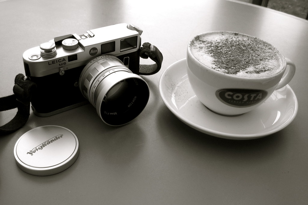 Leica M6   For the camera and coffee pool    Ian Phillip
