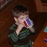 Graham drinking