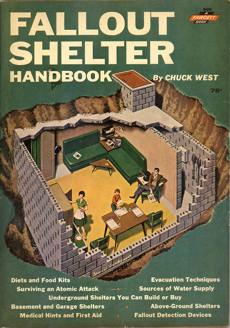 The ward o matic fallout shelter handbook 1962 for Classic underground house