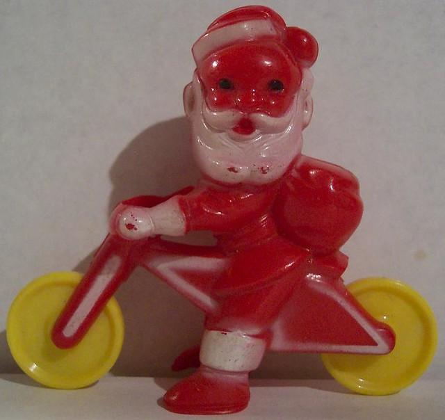 Plastic Santa Claus Outdoor Decorations