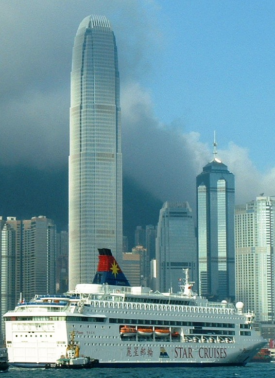 Hong Kong's Tallest Building (dwarfed by Star Cruises)