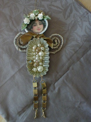 beadqueen Altered Art Doll