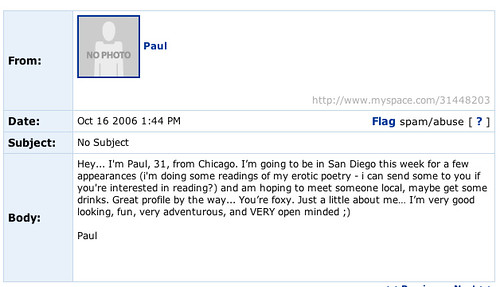 Return of Myspace What Not to Write 20