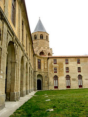 stately home, abbey, chã¢teau, building, monastery, facade,