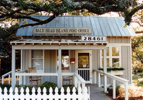 Bald Head Island Post Office, North Carolina