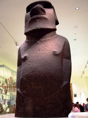 British Museum - Polynesia, Easter Island, Hoa Hakananai'a
