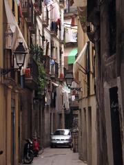 Barcelona: Sant Pere, laundry
