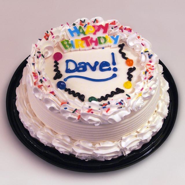 Birthday Ice Cream Cake