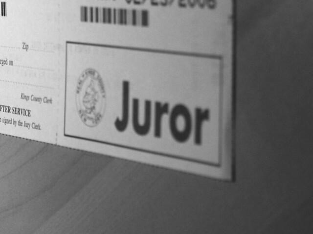 Juror summons kings county