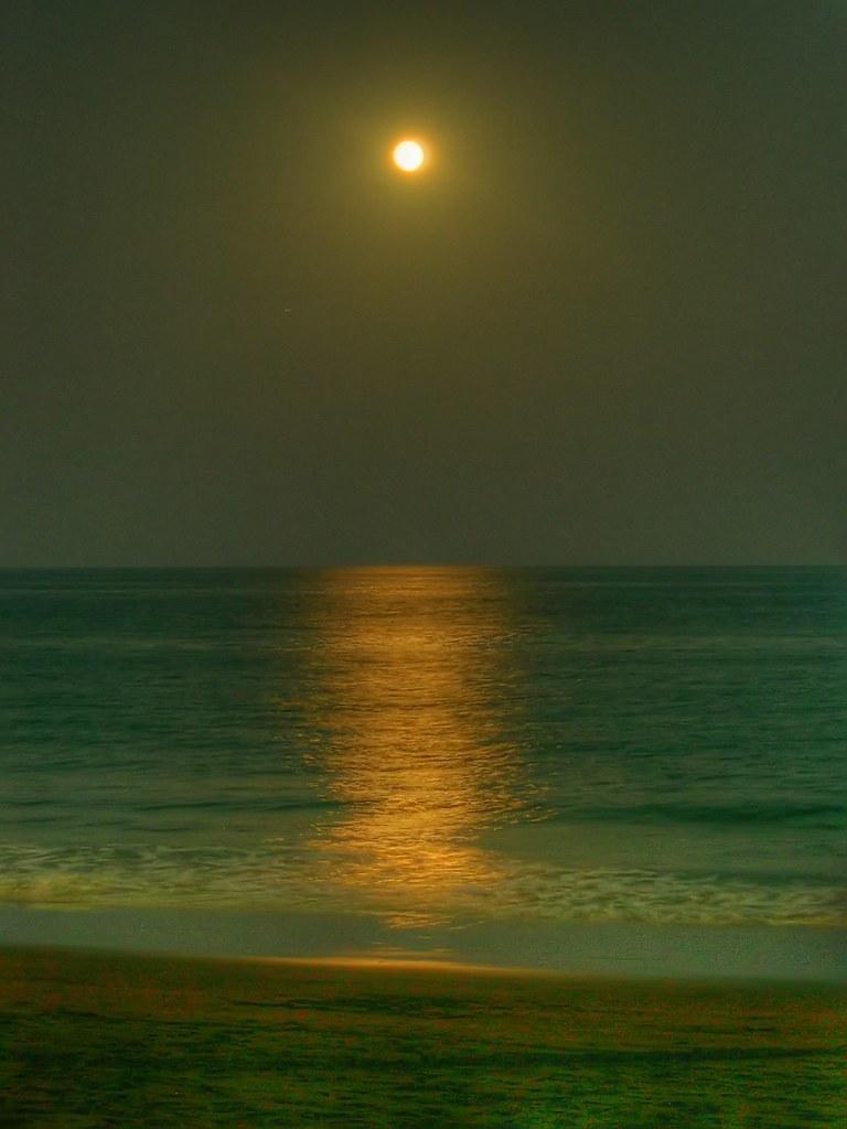 HDRI La luna desde La Garita 2 (sin ruido) | Pablo César Pérez