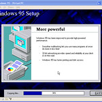 Installing Windows 95