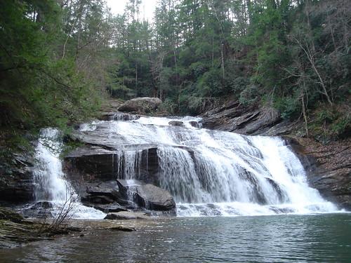 hiking panthercreek waterfall