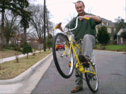 jeffy 2004 on a bike