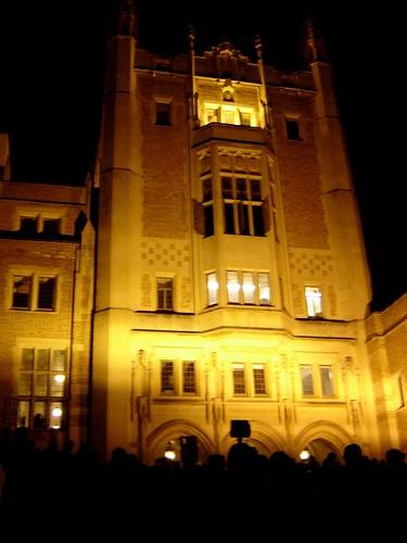 Ominous Kerckhoff Hall