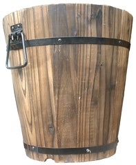 percussion(0.0), flowerpot(0.0), furniture(0.0), bass drum(0.0), drum(0.0), hand drum(0.0), timbales(0.0), skin-head percussion instrument(0.0), wood(1.0), barrel(1.0),