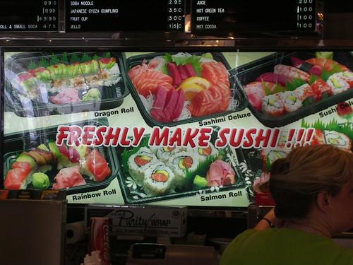 Freshly Make Sushi !!!
