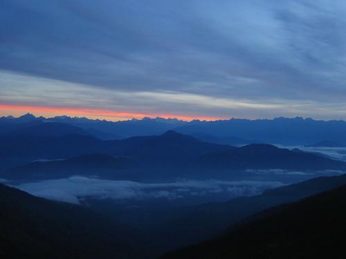 dawn tigerhill darjeeling himalayas himalaya mist
