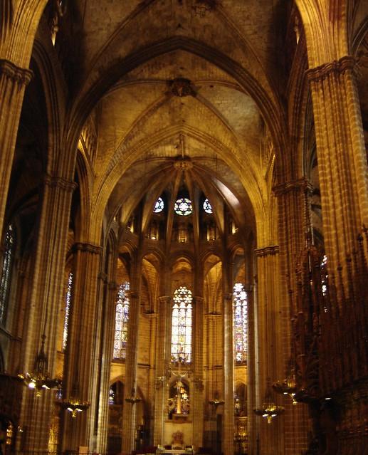 Interior de la catedral de barcelona flickr photo sharing for Interior de la catedral de barcelona