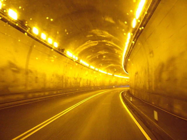 Northern BC tunnel