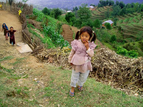 Little Girl - Nagarkot, Nepal