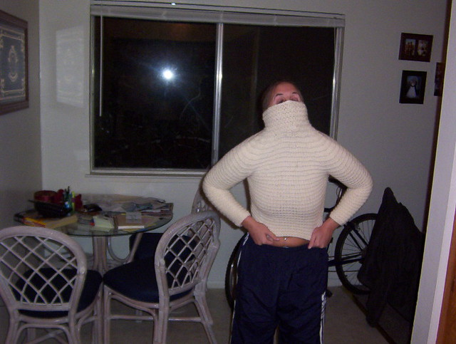 Shrunken Sweater 1