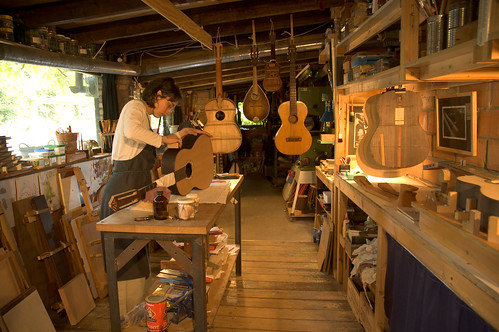 Lara's guitar workshop
