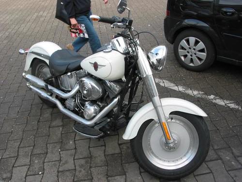 Harley Davidson white 1