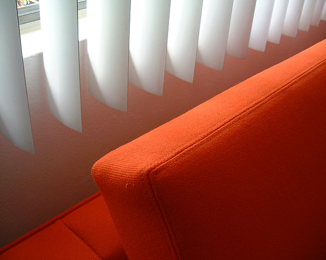 orange couch | Flickr - Photo Sharing!