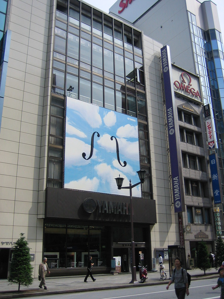 Yamaha Music Store in Ginza | Craig Northway | Flickr