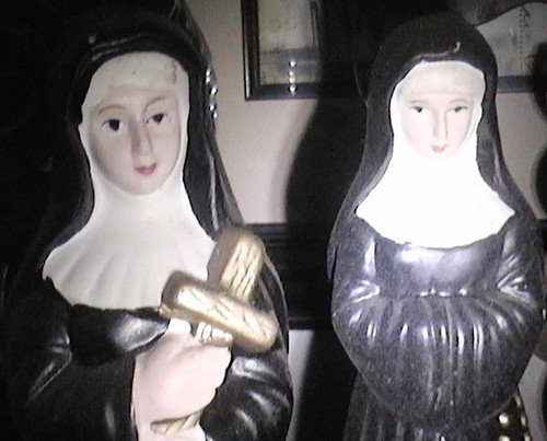 Porcelain Nuns by A.Currell