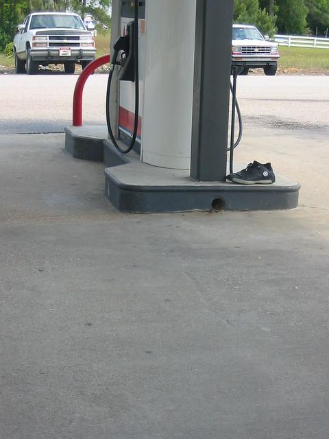 Air Air Jordan At A Pump At Some Gas Station Feed Store Tr Flickr Photo Sharing