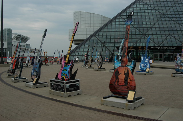 Rock and Roll Hall of Fame by CC user adpowers on Flickr
