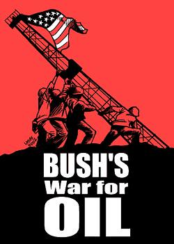 bush war on oil