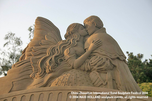 China Zhoushan International Sand Sculpture Festival 2004