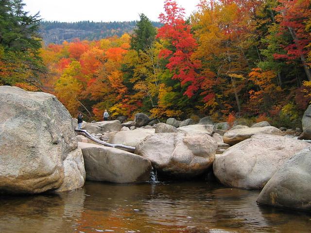 White Mountains autumn 2