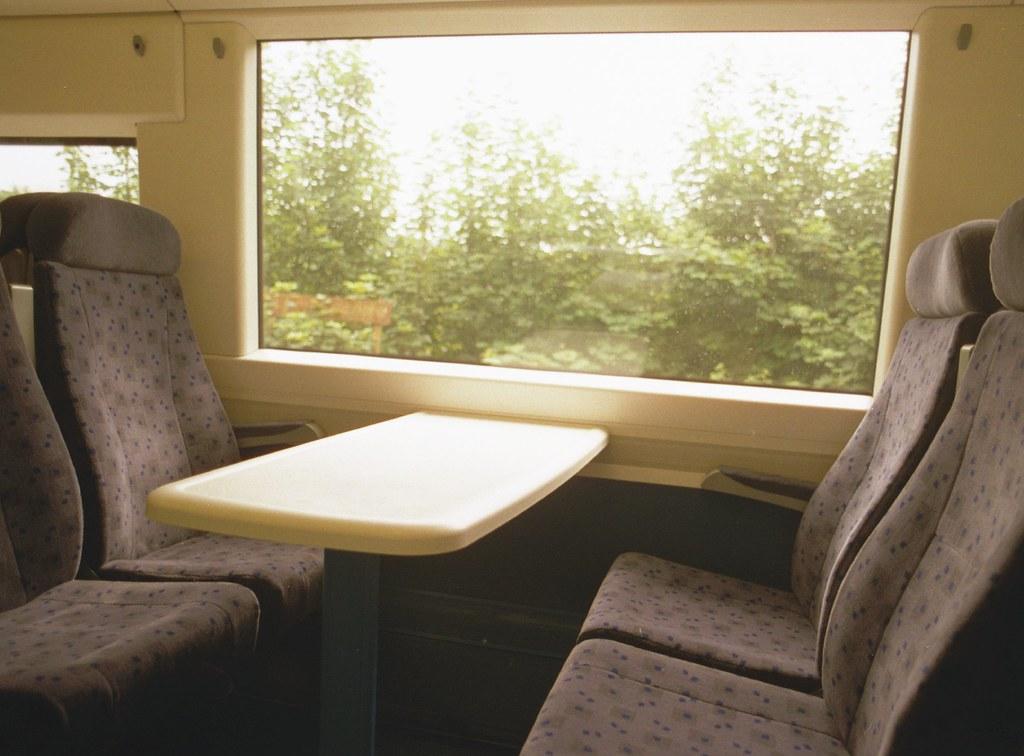 Virtuous design - Electrostar train seating bay