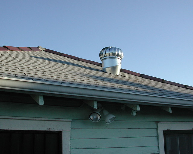 Fan on Roof