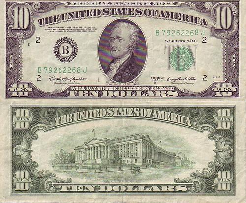 20 Dollar Bill 1950 D Series Star Note – Fondos de Pantalla