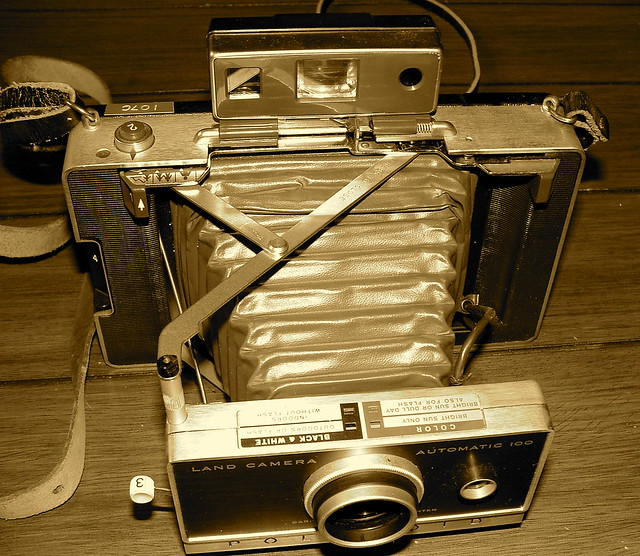 60's Vintage Polaroid Model