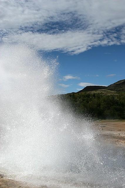 Strokkur Geysir Eruption #6 - Iceland
