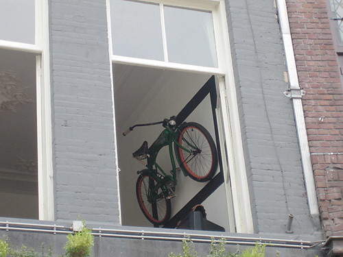 Things People Hang On Their Walls Or How An Old Bike Can