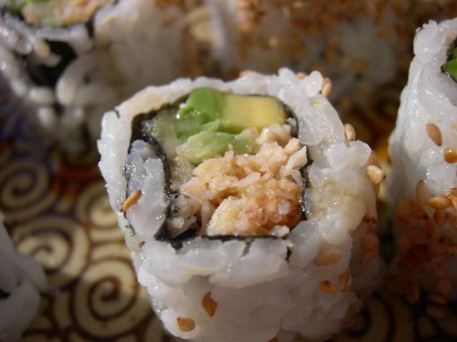 Snow Crab Sushi Rolls (Shot #2) | Flickr - Photo Sharing!