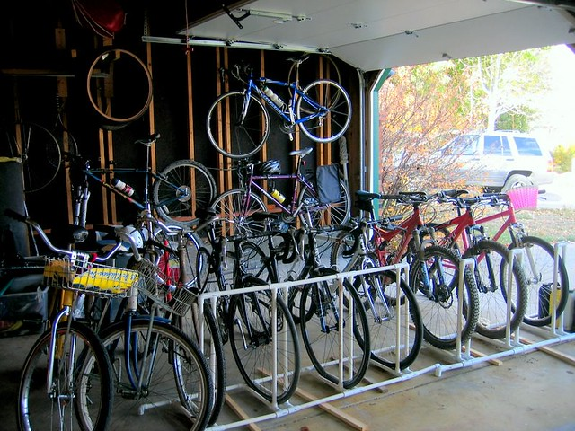 pvc bike rack | Flickr - Photo Sharing!
