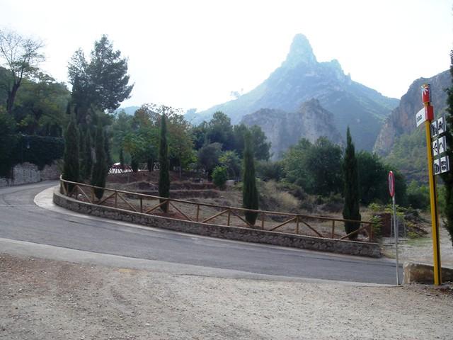 Vista desde la carretera