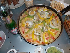 meal, supper, paella, food, dish, cuisine,